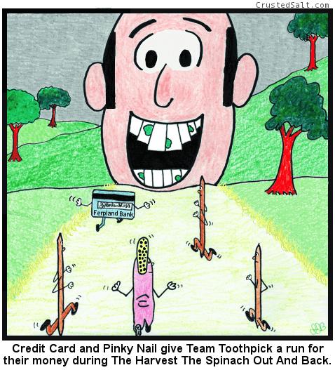 Crusted Salt comic strip