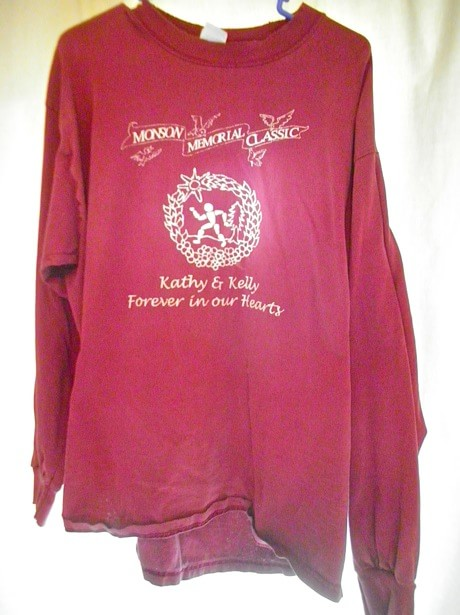 2003 Monson Memorial Half Marathon finisher t-shirt