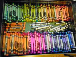 my box of crayons